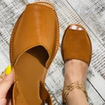 MCCKLE-Summer-Sandals-Women-Flats-Female-Casual-Peep-Toe-Shoes-PU-Slip-on-Leisure-Solid-Sewing