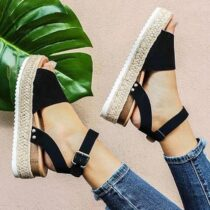 Summer-Women-Sandals-Wedge-Open-Toe-Shoes-Buckle-Ankle-Strap-Zapatos-De-Mujer-Women-Casual-Shoes